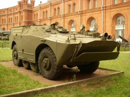 Боевая машина 9П110 с ПТРК 9М14 МАЛЮТКА