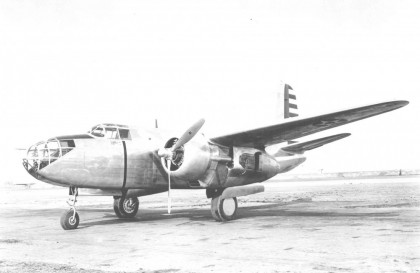 Легкий бомбардировщик ДУГЛАС А-20