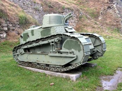 "Легкий танк ""Рено"" FT 17"