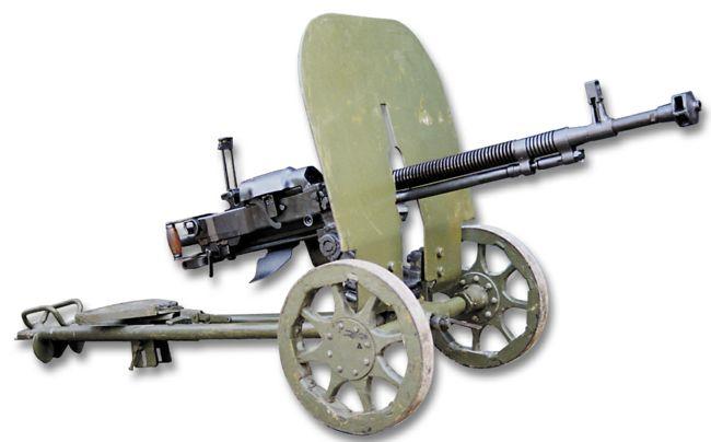 Пулемет ДШК