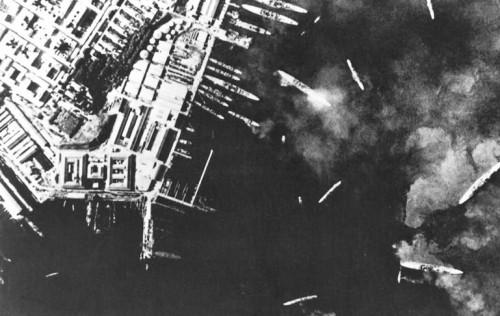 Атака Таранто 1940 год