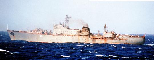 Плавучие базы подводных лодок проекта 1886