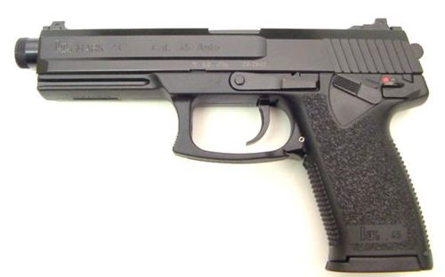 Пистолеты USP и MK23