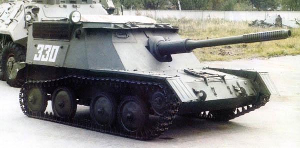 Самоходка АСУ-76