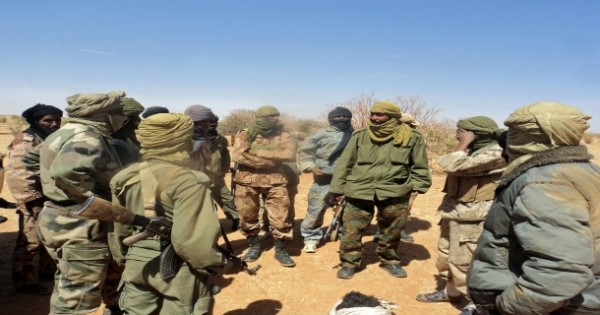Mali_Soldats de l Azawad-Tombouctou