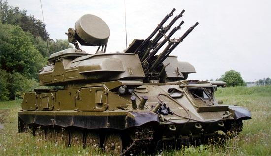Зенитная самоходная установка ЗСУ-23-4 «Шилка»