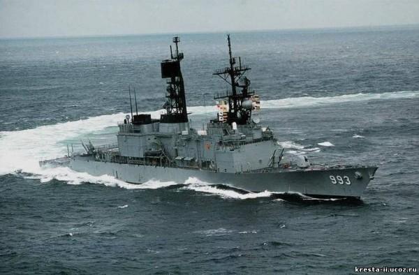 Эсминцы типов «Спрюэнс» и «КИДД»