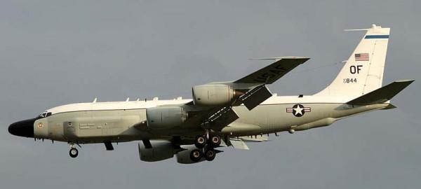 Самолет Боинг RC-135 V/W «Ривет Джойнт»
