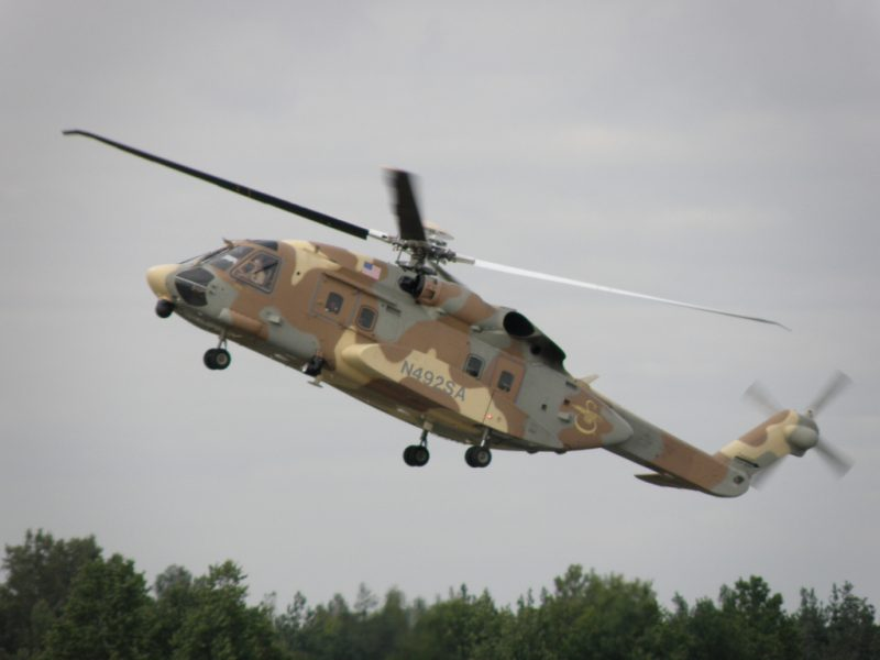 Вертолет Сикорский S-92 «Хэлибас»
