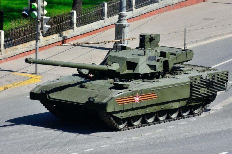 Танк Т-14 на платформе «Армата»