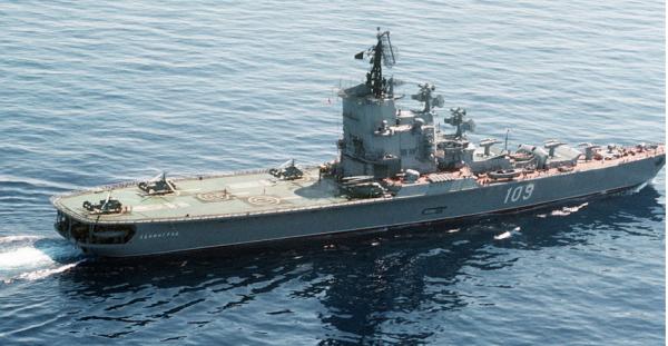 Противолодочные крейсера проекта 1123
