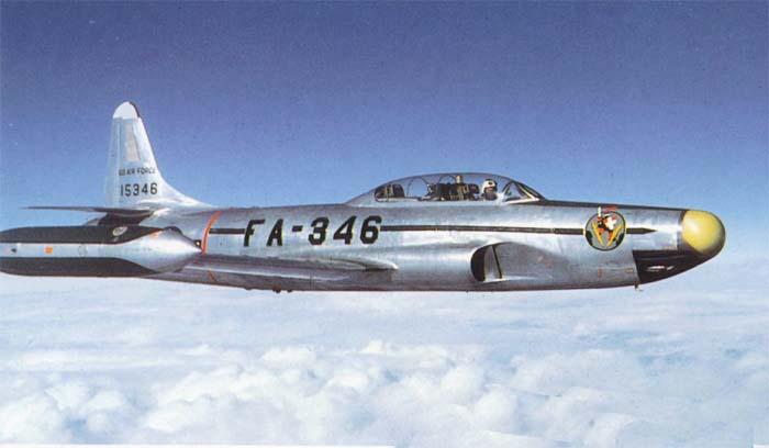 "Самолет  Локхид F-94 ""Старфайр"""