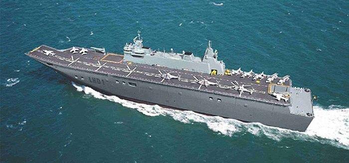 Корабль «Хуан Карлос I»