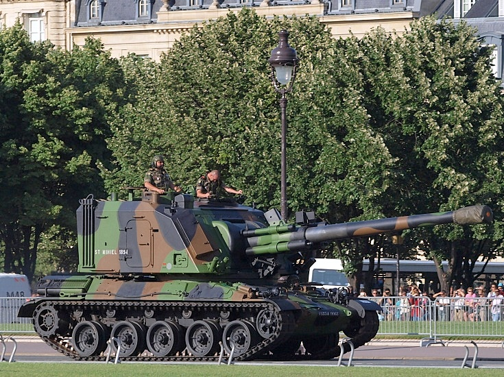 САУ AMX-30 AUF-1