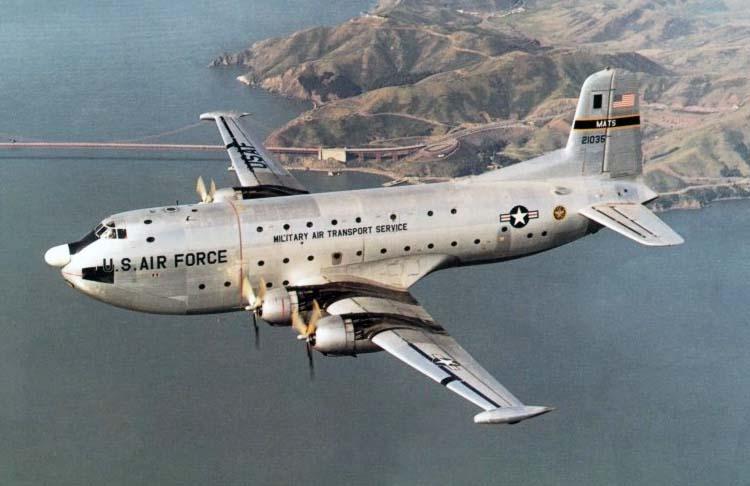 Самолет Дуглас С-124 Глоубмастер