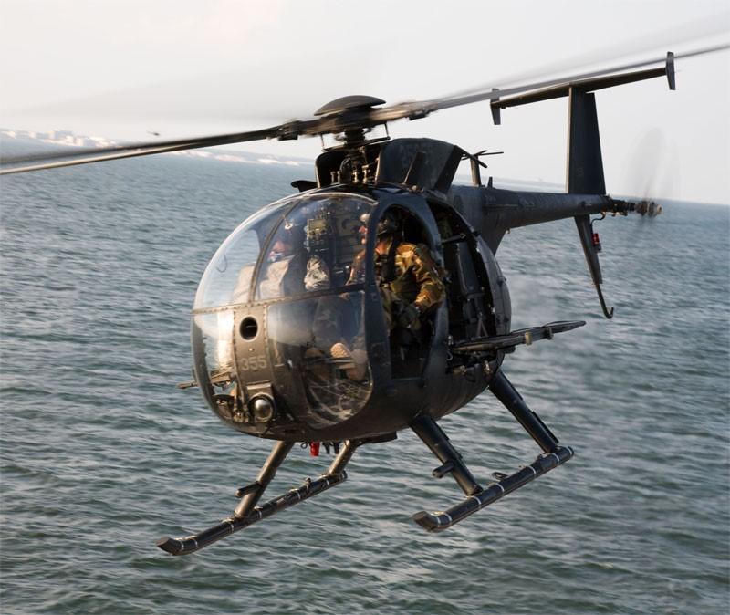 """Вертолет Хьюз OH-6A """"Кейюз"""""""