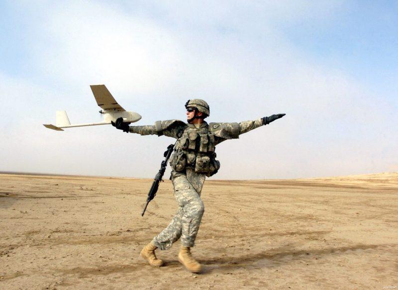 """Беспилотник Аэровайронмент RQ-11 """"Рейвен"""""""