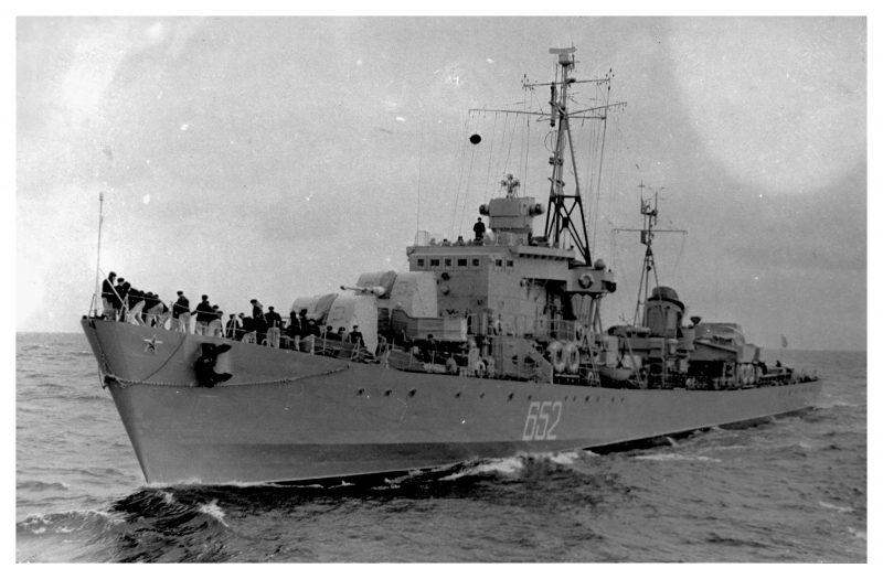 Первые корабельные РЛС