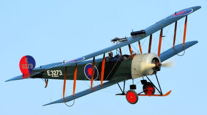 Самолет Авро 504