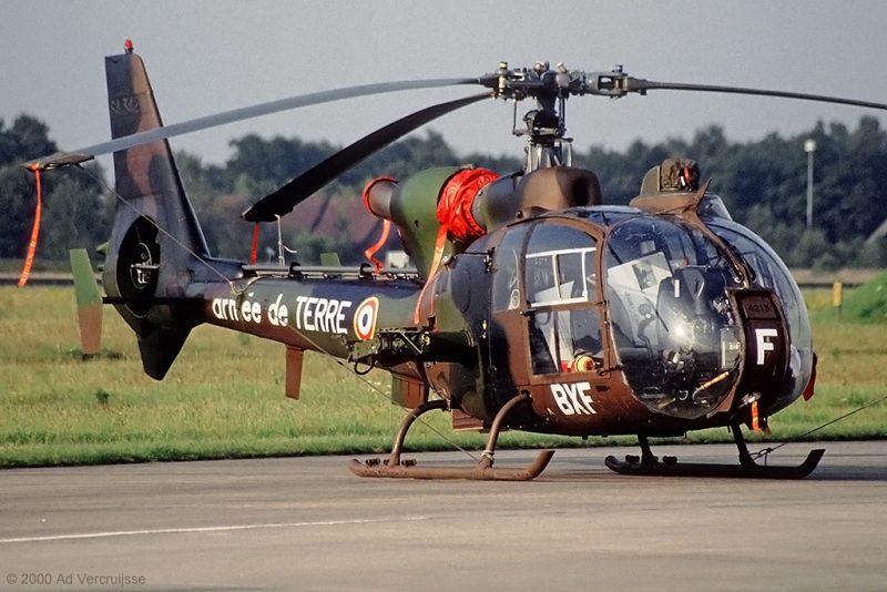 Вертолет SA341/SA342