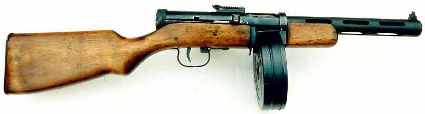 Пистолет-пулемет Дегтярёва
