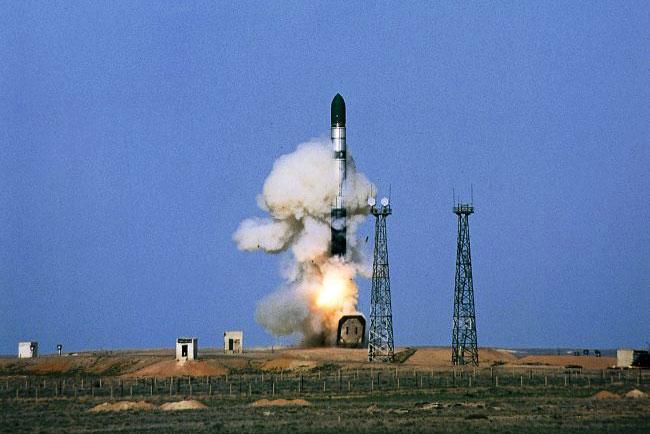 """Ракетный комплекс Р-36М2 """"Воевода"""""""