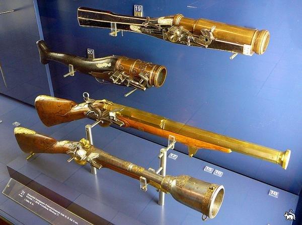 Первое огнестрельное оружие Европы
