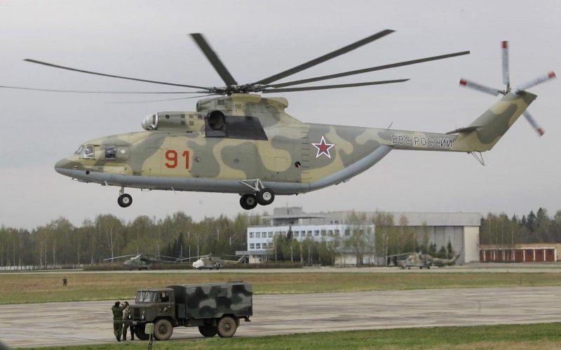 Тяжелый транспортный вертолет Ми-26
