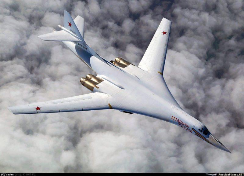 Бомбардировщик Ту-160