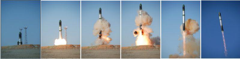 Стратегический ракетный комплекс с межконтинентальной баллистической ракетой Р-36М2 и Р-36МУТТХ