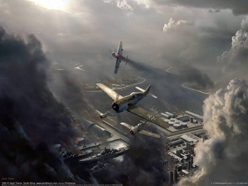 Воздушные бои второй мировой