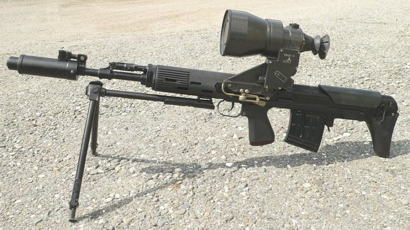 Снайперская винтовка СВУ-АС