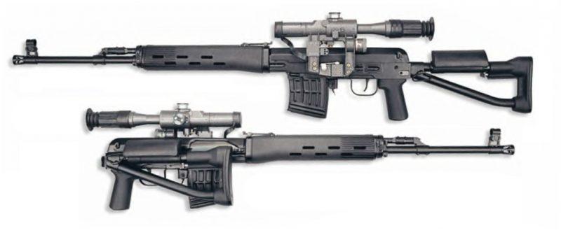 Снайперские винтовки СВД и СВДС