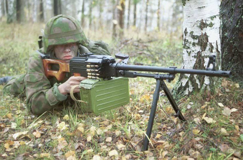Единый пулемет ПК/ПКС (6П6/6П3)