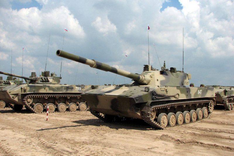 """125-мм самоходная противотанковая пушка 2С25 """"Спрут-СД"""""""