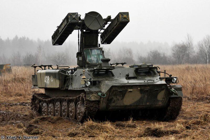 """Самоходный зенитный ракетный комплекс 9К35 """"Стрела-10"""""""