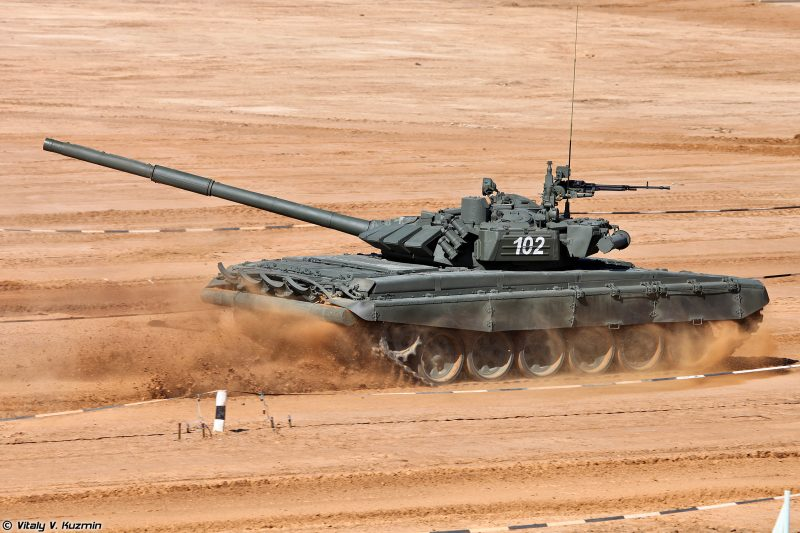 """Основной боевой танк Т-72 """"Урал"""""""