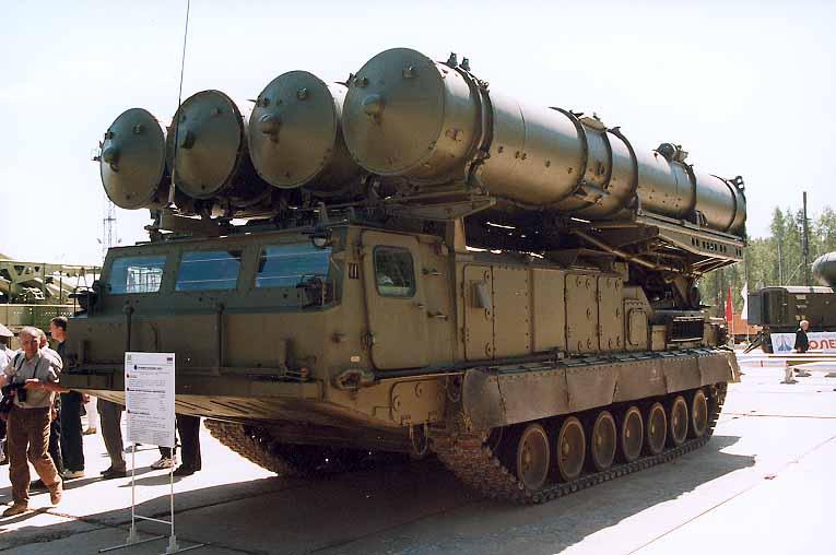 Зенитная ракетная система 9К81 С-300В