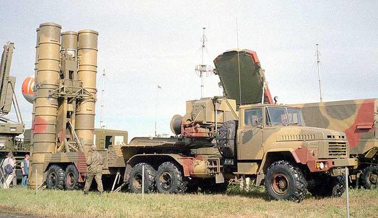 Зенитная ракетная система С-300ПМУ