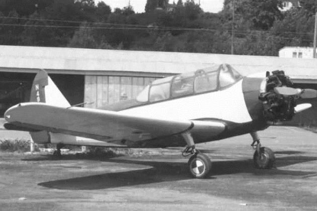 """Самолет """"Фэйрчайлд"""" РТ-19"""