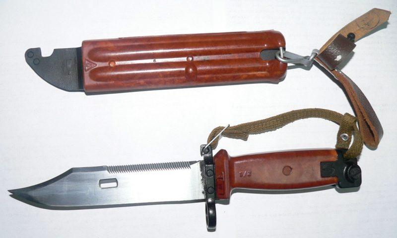 Штык-нож 6X4 к автоматам АКМ и АК-74