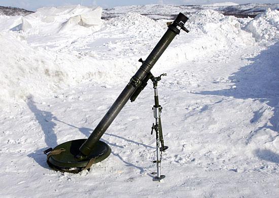 "82-мм миномет 2Б14-1 ""Поднос"""