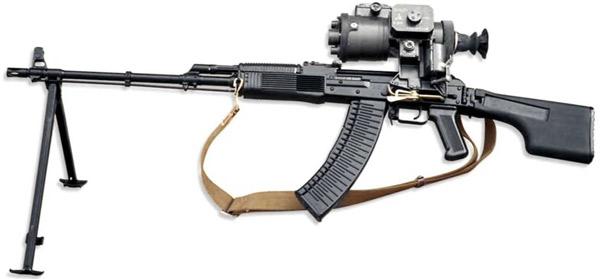 Ручные пулеметы РПК-74 и РПК-74М