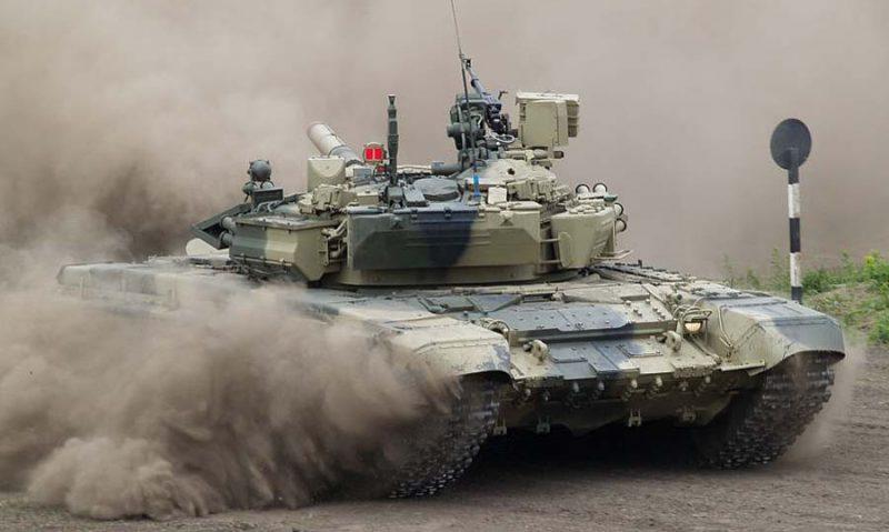 Основной боевой танк Т-90/Т-90С