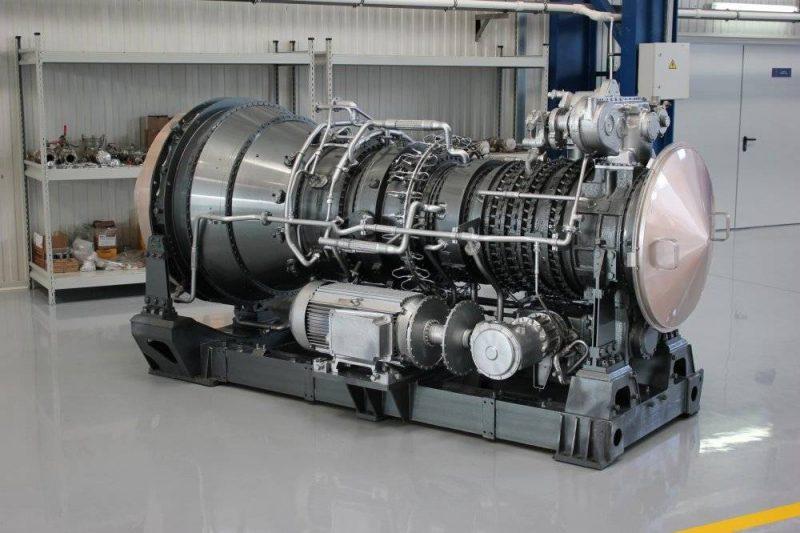 Газотурбинные силовые установки на кораблях