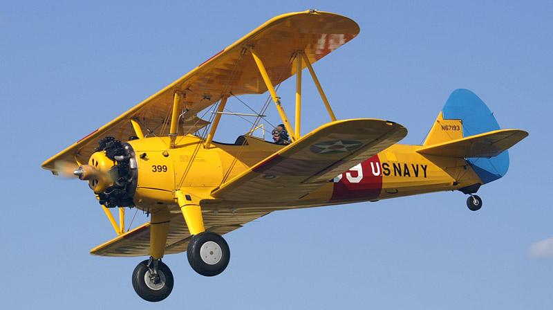 Самолеты Боинг РТ-13 и РТ-17