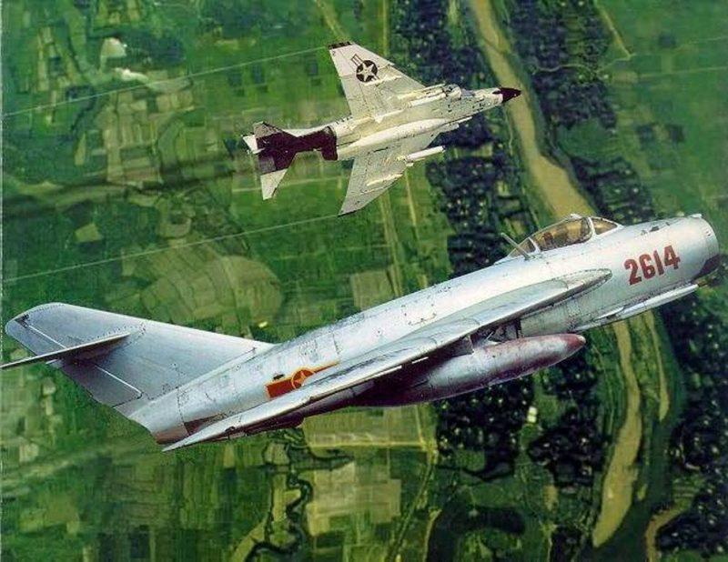 Война в небе Вьетнама