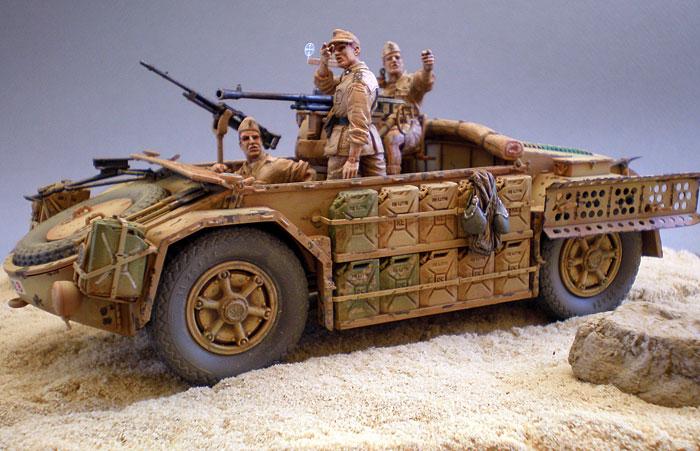 """Пустынные джипы """"Камионетта Десертика"""" Mod.42"""