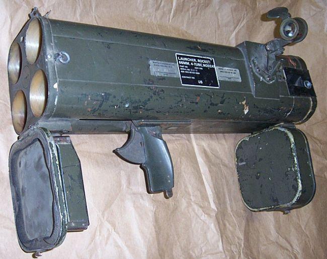 Реактивный пехотный огнемет М202