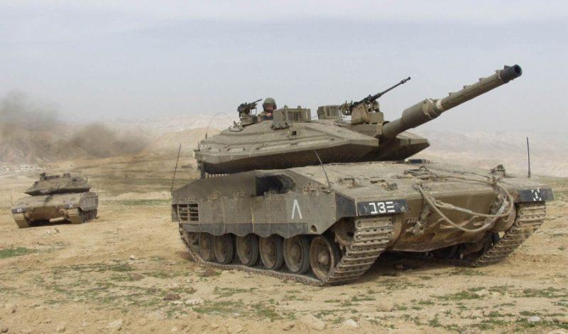 "Танк Mk 4 ""Меркава"""